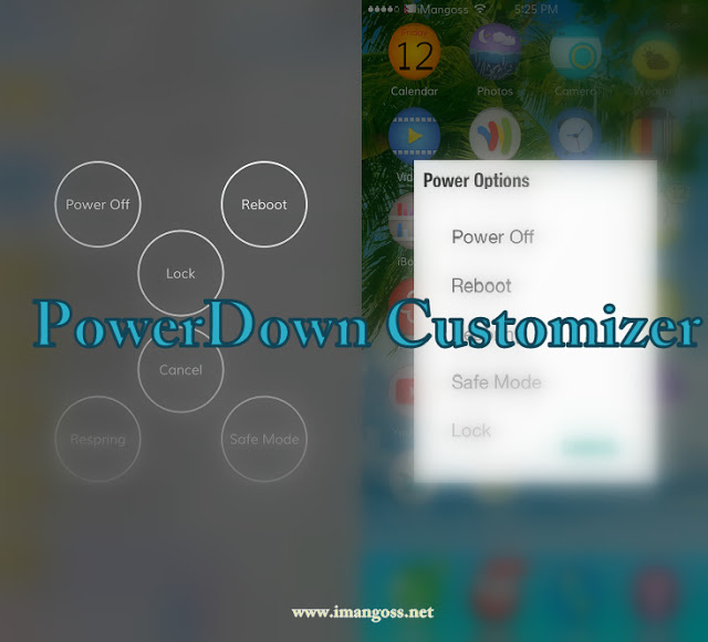 PowerDown Customizer for iOS 7 has been released in Cydia which offers five different styles of powerdown options