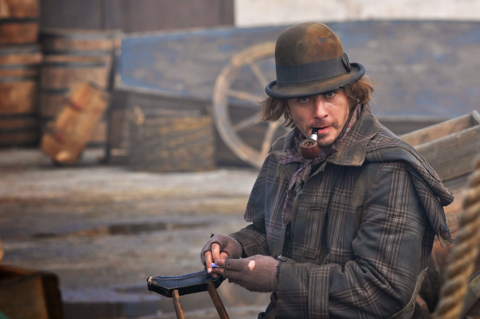 Russian Sherlock Holmes in disguise in the new Russian Sherlock Holmes 2013 TV Series