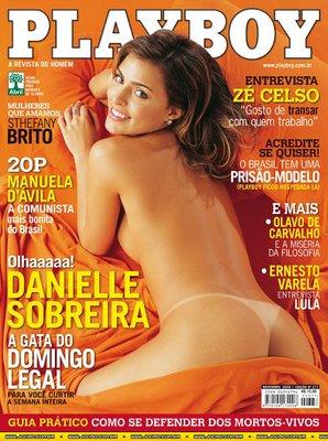 Danielle Sobreira na Playboy 2006