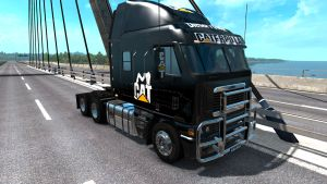 Caterpillar skin for Freightliner Argosy Reworked
