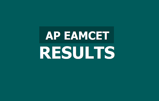 AP EAMCET Results with Rank Cards