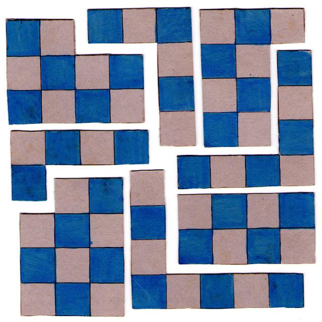 Puzzle formar tablero ajedrez