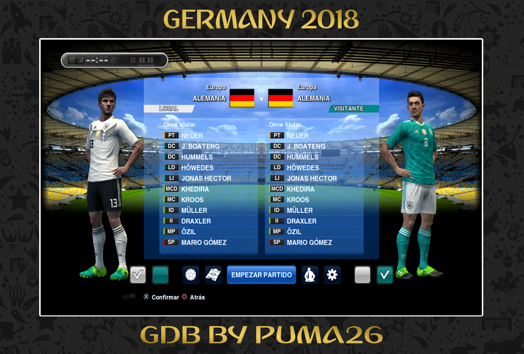 PES 2013 GERMANY 2018 GDB by PUMA26