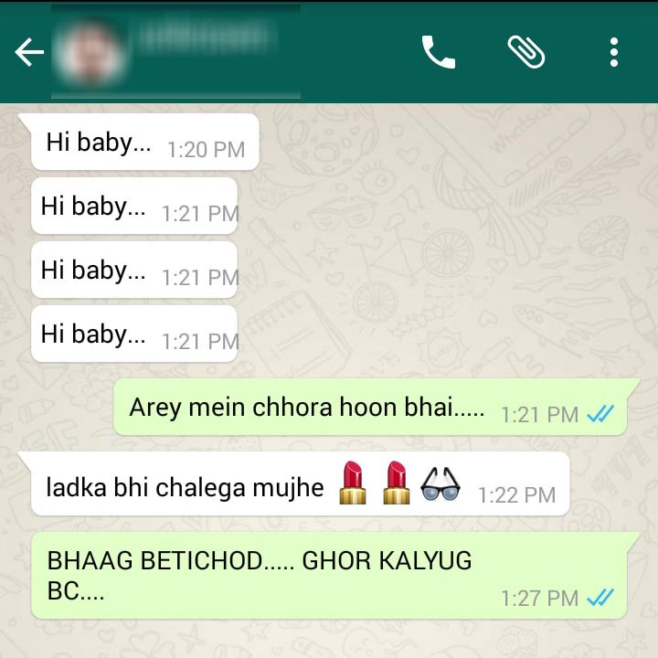 16 Funny WhatsApp Chat That Will Make You Go ROFL « Page 2 ... |Funny Whatsapp Chats