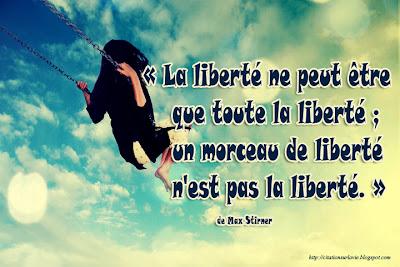 Toute la liberté
