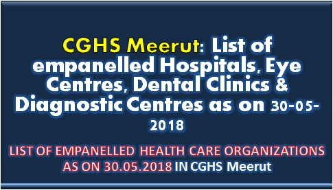 cghs-meerut-list-of-empanelled-hospitals