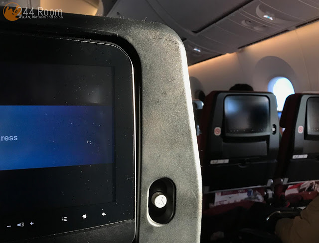 JALエコノミークラス座席 JAL Economyclass-seat