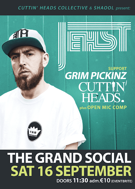 Jehst Grim Pickinz Cuttin Heads Collective The Grand Social