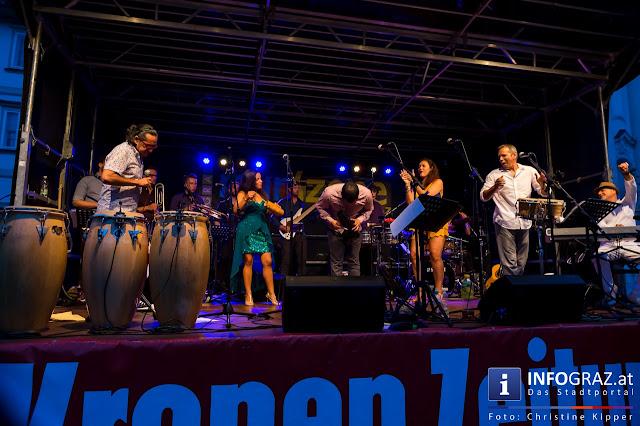 Brasilianischer Rhythmus für das Festival 'Murszene'