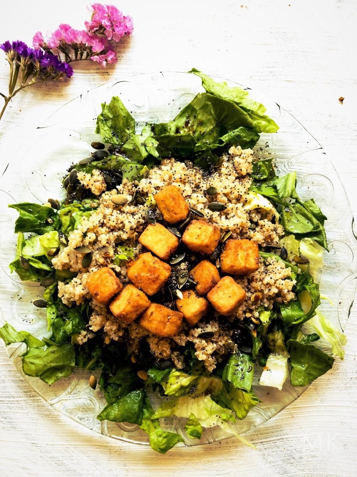quinoa-tofu-agridulce-receta-vegana