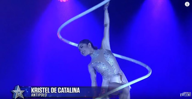 The Breathtaking Performance Of Kristel De Catalina Earned A Standing Ovation From The Judges