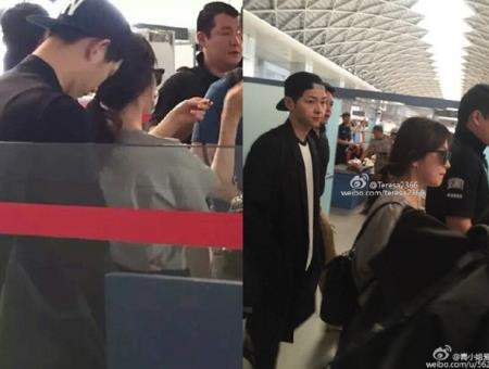 Song Joong Ki And Hye Gyo Looking As Close Ever Lately Netizen Buzz