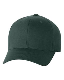 topi baseball hijau tua