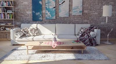 Gambar Lukisan Dinding Ruang Tamu Rumah Minimalis Terbaru Ide Dinding Interior