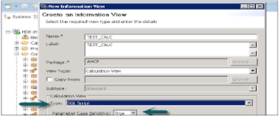 SAP HANA SQL Script