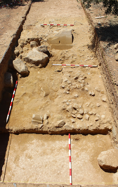 Bases of Roman Arch discovered in Andalusia