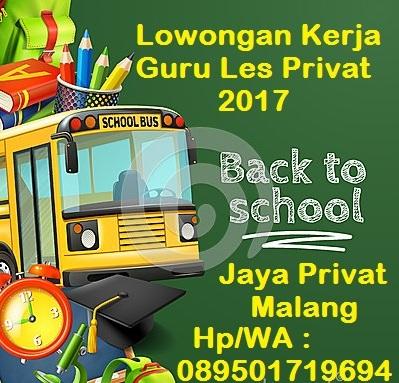Les Privat Malang Terbaik Di Malang Guru Datang Ke Rumah