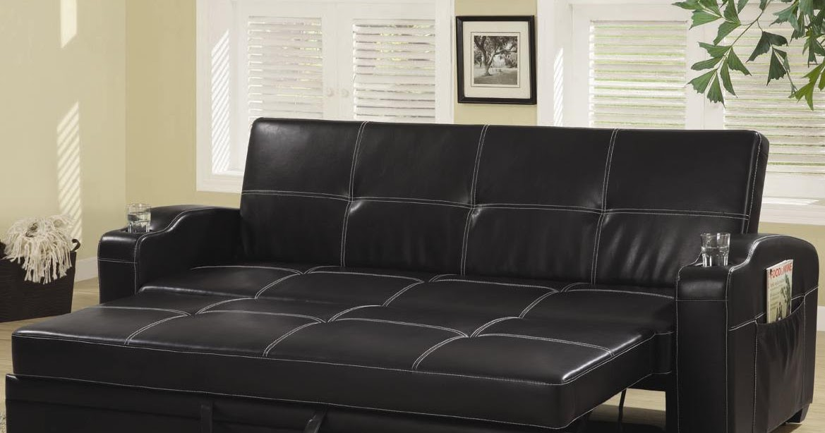 Ikea Cheap Bed Click Clack Sofa Bed | Sofa Chair Bed | Modern Leather