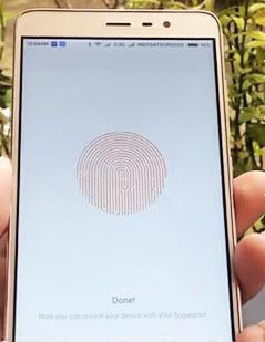 cara mengaktifkan fingerprint hp xiaomi redmi note  Cara Mengaktifkan Fingerprint Di HP Xiaomi Redmi 3 Pro