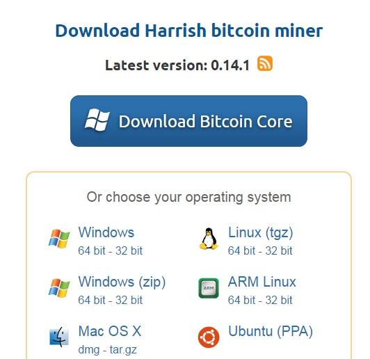 rajanonline: Harris Bitcoin miner free software