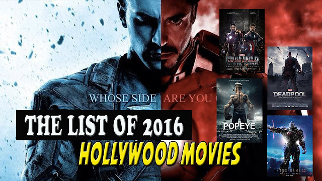 Top New movies 2016 watch online list