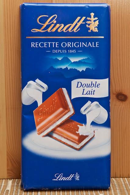 Lindt - Lindt & Sprüngli - Tablette Recette Originale Double Lait - Milk Chocolate - Chocolat au Lait - Suisse - Chocolat Suisse - Tablette de Chocolat Double Lait - Dessert - Chocolate - Cacao - Food - Swiss Chocolate