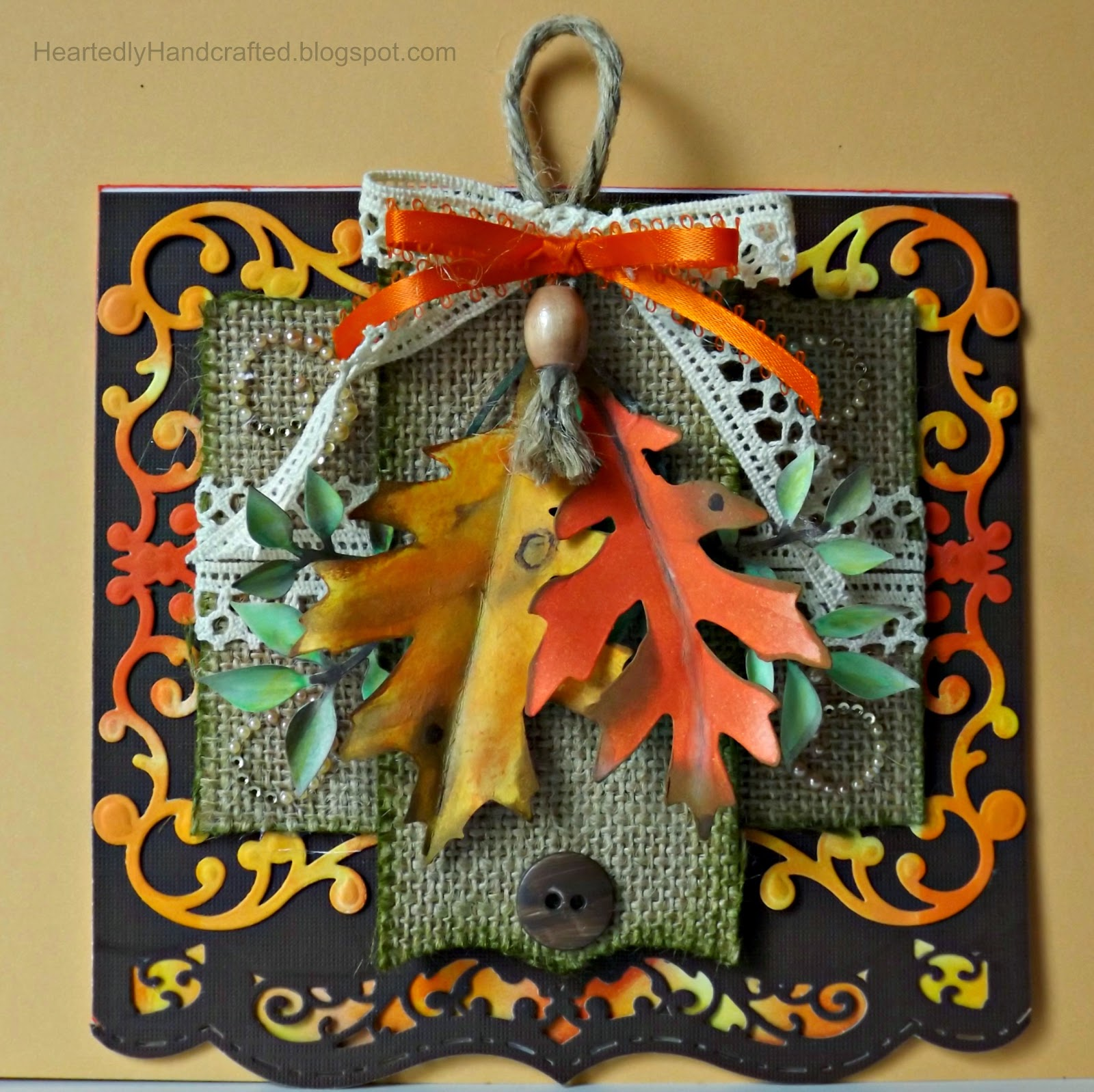 Fall Fiesta Greeting Card that becomes an Office Decoration