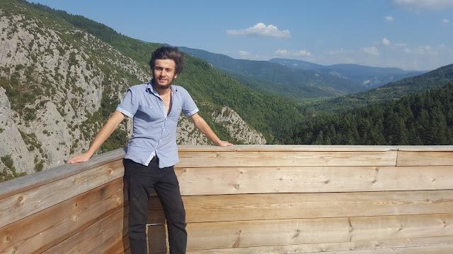 Harun İstenci Kastamonu Küre Dağları Milli Parkı Valla Kanyonunda Seyir Terasında.