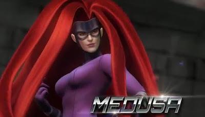 Medusa, Wanita Si Rambut Ajaib