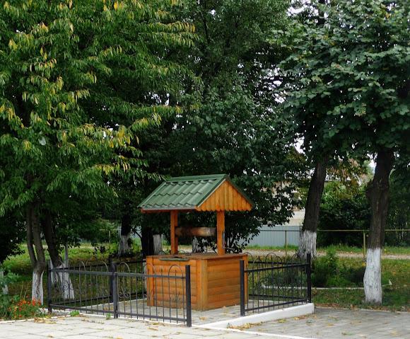 Колодец на железнодорожной станции в пос. Лужаны, Кицманский  район, Черновицкая обл.