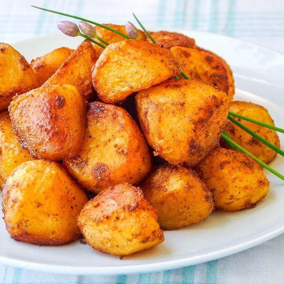 Barbecue Spice Roasted Potato Nuggets