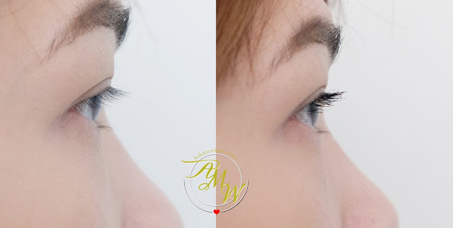 before and after photo of Cathy Doll Pretty Volume Mascara Review by Nikki Tiu www.askmewhats.com