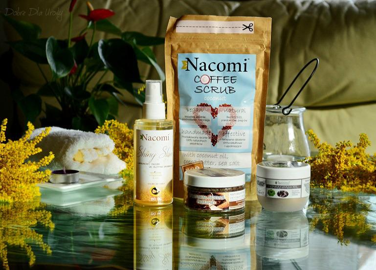 Nacomi kosmetyki naturalne - domowe spa - piękne ciało i dopieszczone zmysły