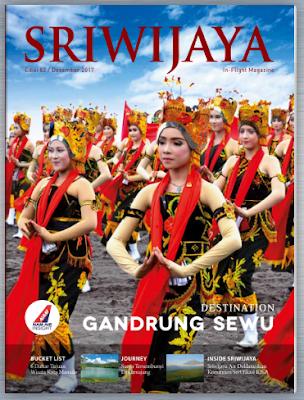 Majalah Sriwijaya Inflight Megazine 2018 2019