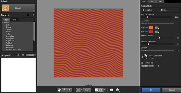 Create seamless tiling patterns in Alien Skin Eye Candy