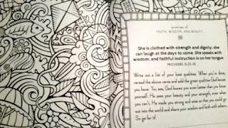 Faithgirlz Promises for You Coloring Devotional sample