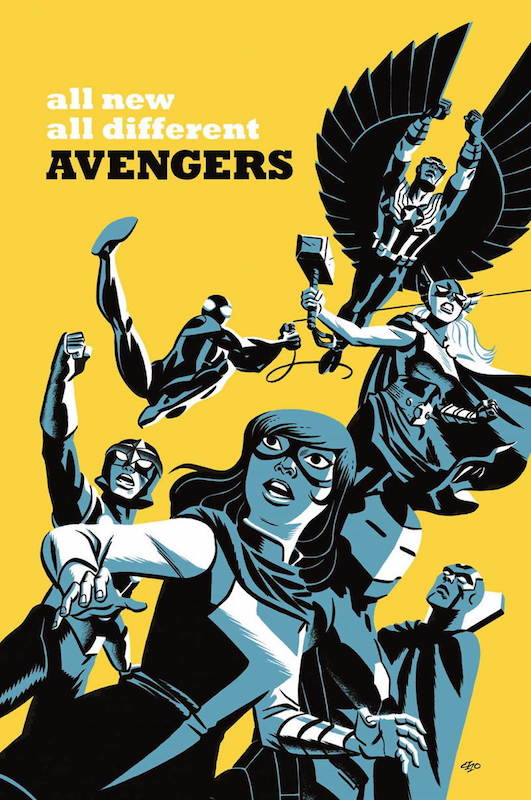 All-New All Different Avengers by Michael Cho.