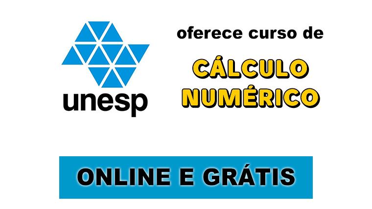UNESP oferece curso online e grátis sobre Cálculo Numérico, Raízes e Funções