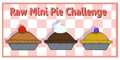 Raw Mini Pie Challenge