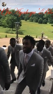 At Last, Victor Moses Weds Wife In London ...See Photos