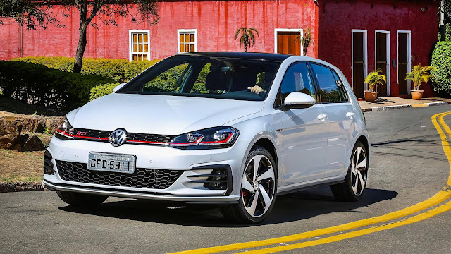 VW Golf 2018 - financiamento taxa zero