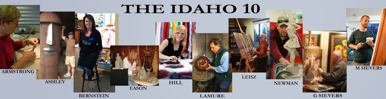 Ten Idaho Artists Selected for Elite 25th Annual Celebration