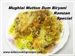 Mughlai MuttonDum Biryani