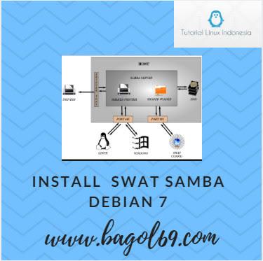 Instalasi   dan  Konfigurasi  SWAT SAMBA  Debian  7