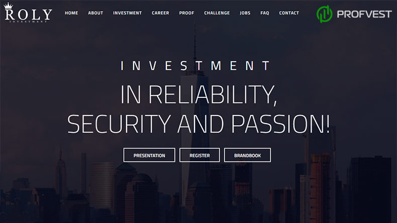 Roly Investment обзор и отзывы HYIP-проекта