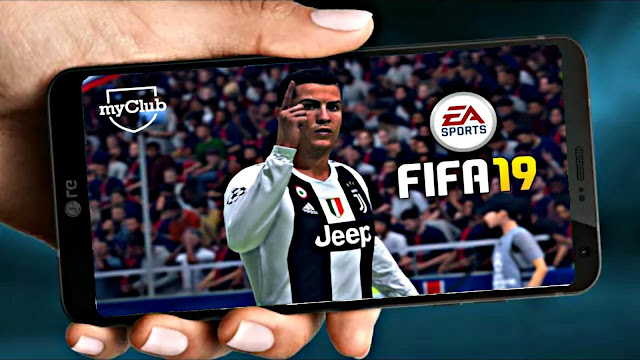 FIFA 19 MOD PES Android Offline 600 MB Best Graphics