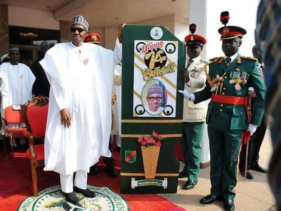 Photos From President Buhari's 74th Birthday Celebration