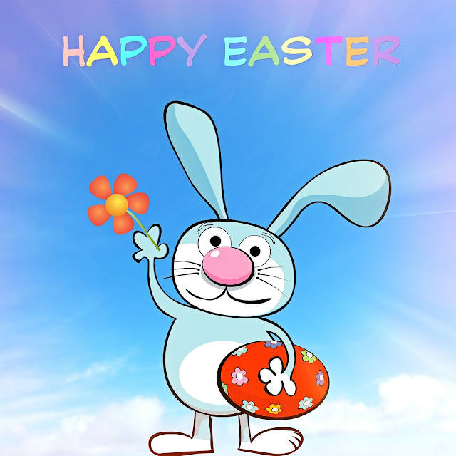 Happy Easter Day Doremon Card