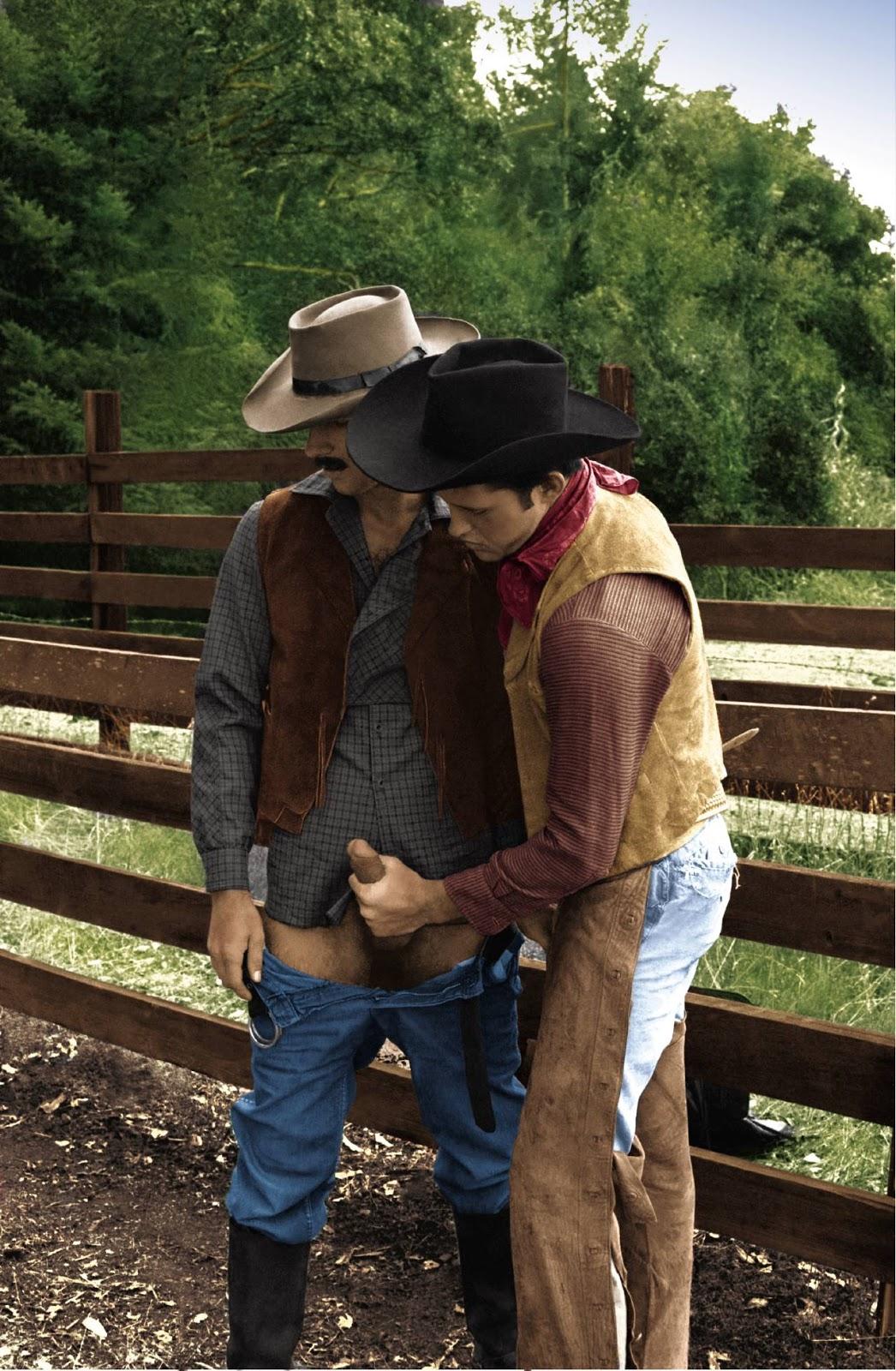 Riding me cowboy style