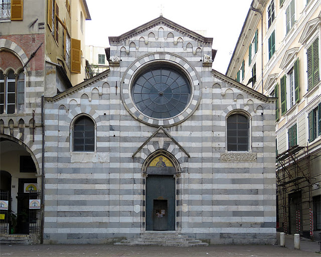 Church of San Matteo, Piazza San Matteo, Genoa